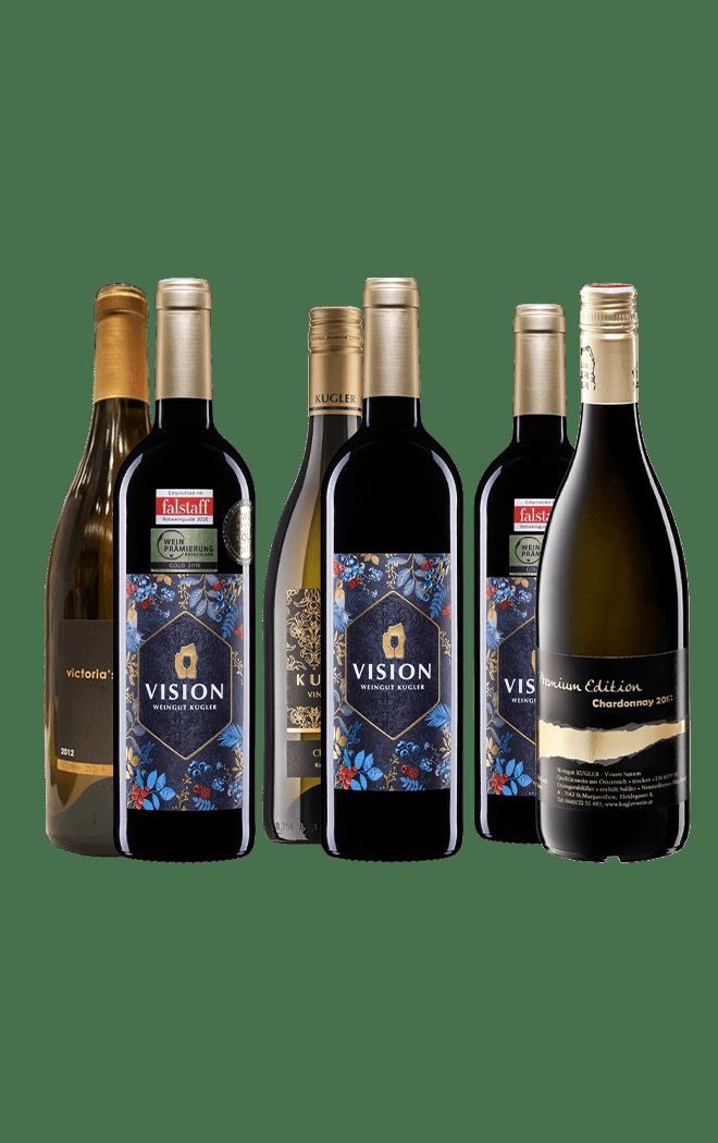 Weinpaket Elegant und Gehaltvoll