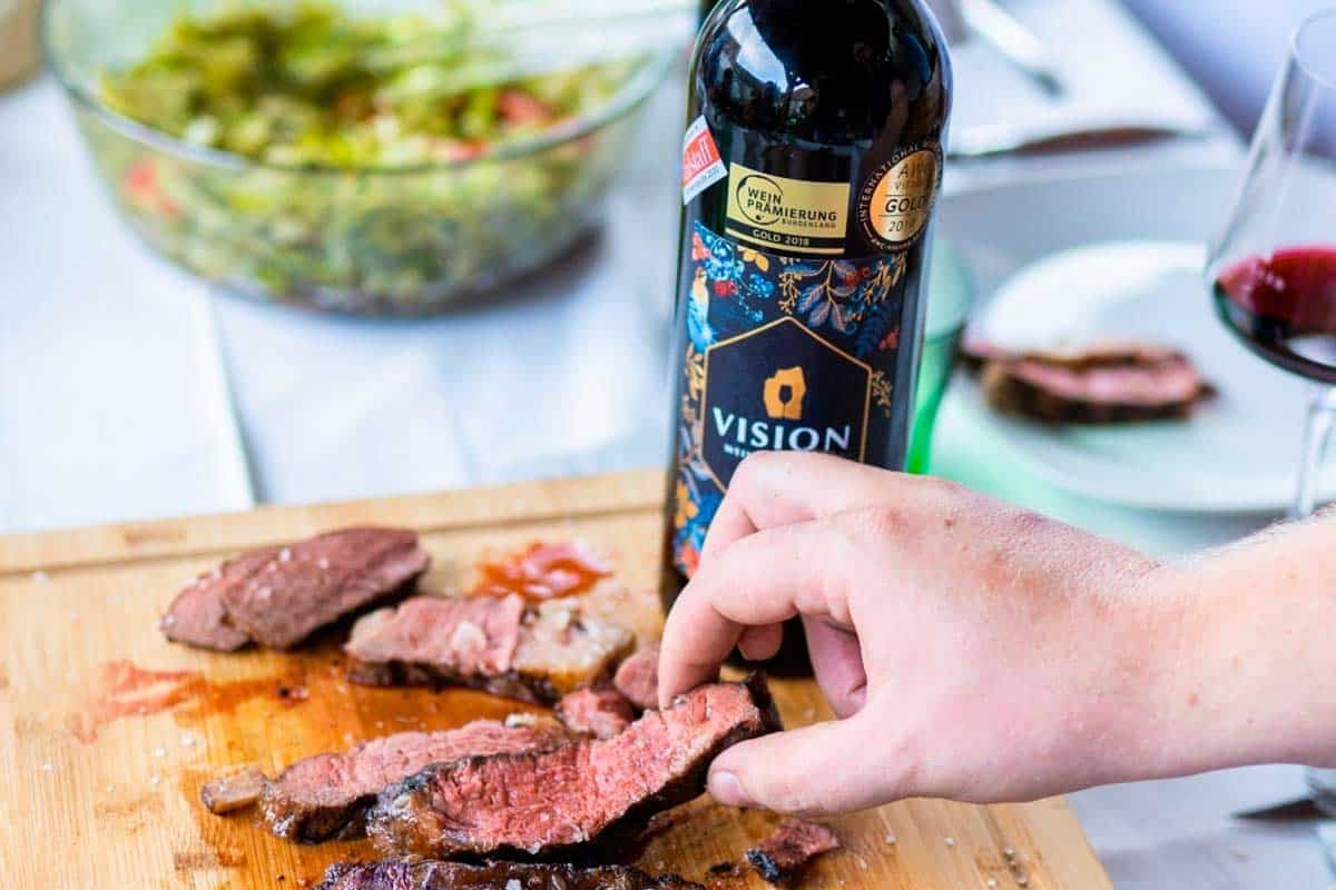 Storybild BBQ & Wein